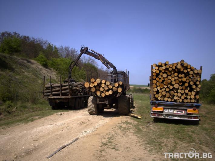 Машини за дърводобив Форвардер VALMET 838 (8 х 8) 5 - Трактор БГ