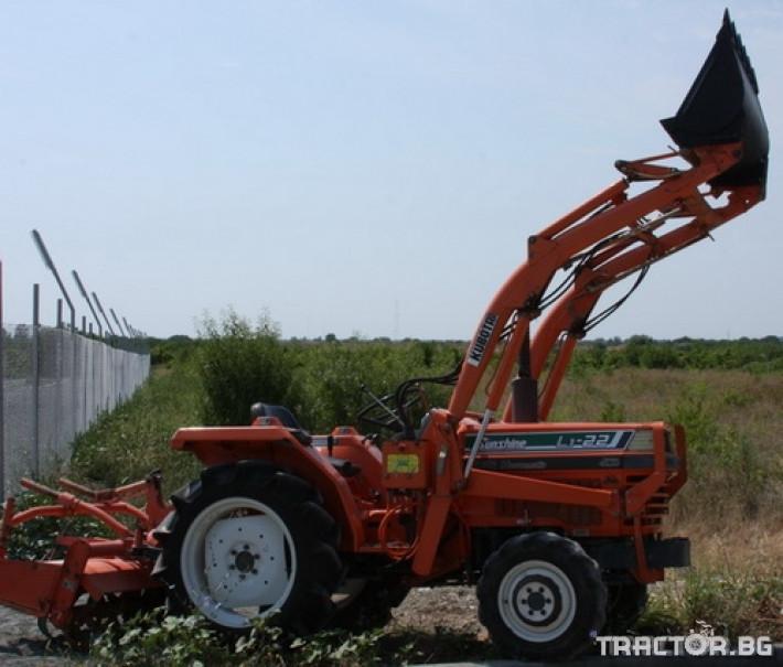 Трактори Kubota L 1-22 0 - Трактор БГ