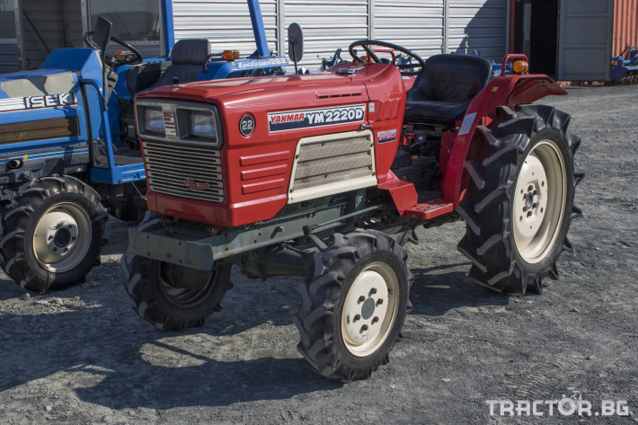 Трактори Yanmar YM2220D 0 - Трактор БГ