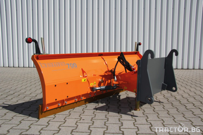 Техника за почистване Гребло за почистване на сняг BEMA Serie 700 2 - Трактор БГ