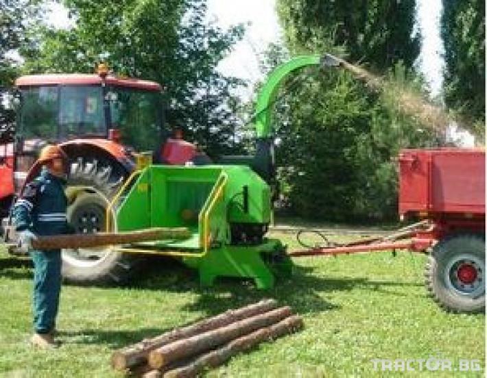 Машини за дърводобив Дробилка lASKI LS 200T 6 - Трактор БГ