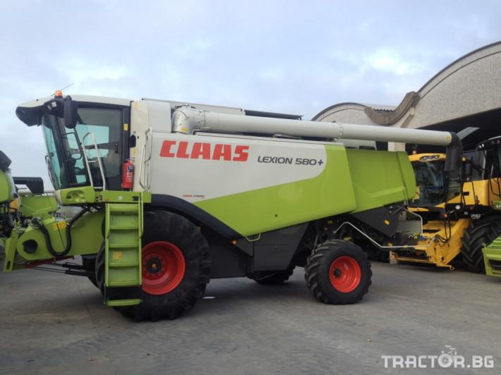 Комбайни Claas Lexion 580+ 2 - Трактор БГ
