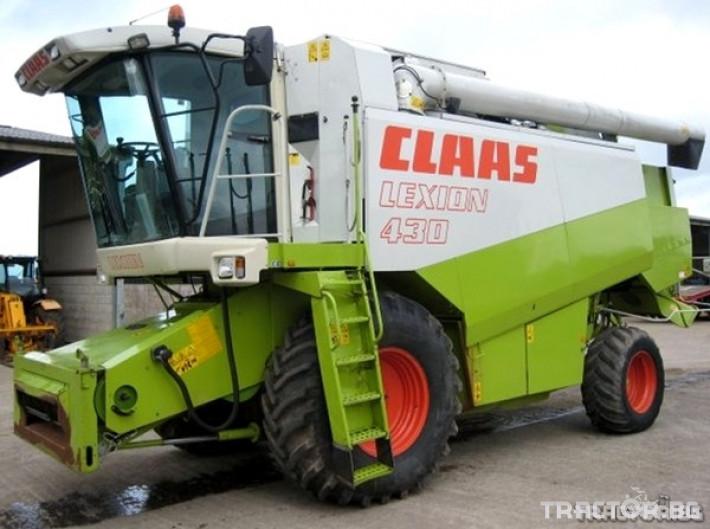 Комбайни Claas Lexion 430 7