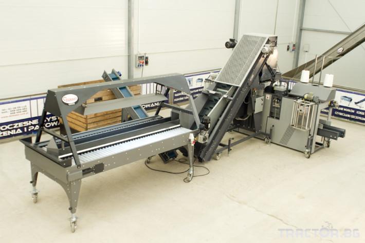 Машини за зеленчуци Mашина за теглене и пакетиране DOMASZ  WE-30 PLUS 7 - Трактор БГ