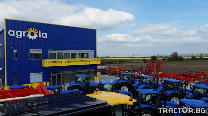 Трактори New Holland НОВИ 4 - Трактор БГ