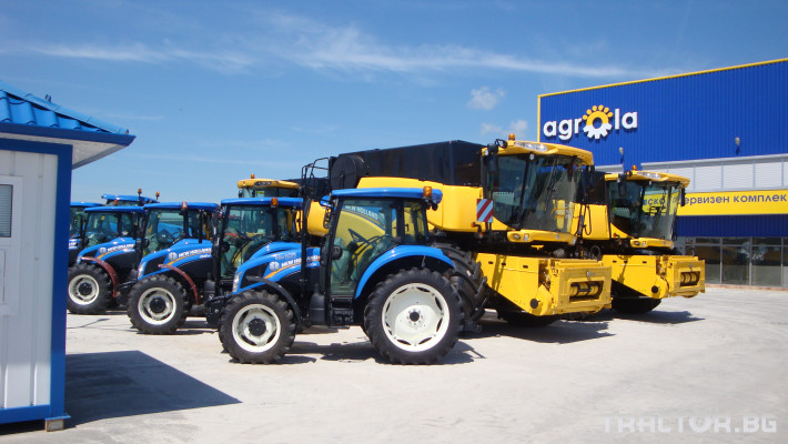 Трактори New Holland НОВИ 5 - Трактор БГ
