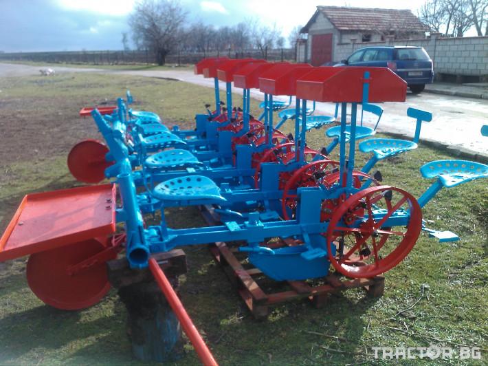 Сеялки тракия 4 - Трактор БГ