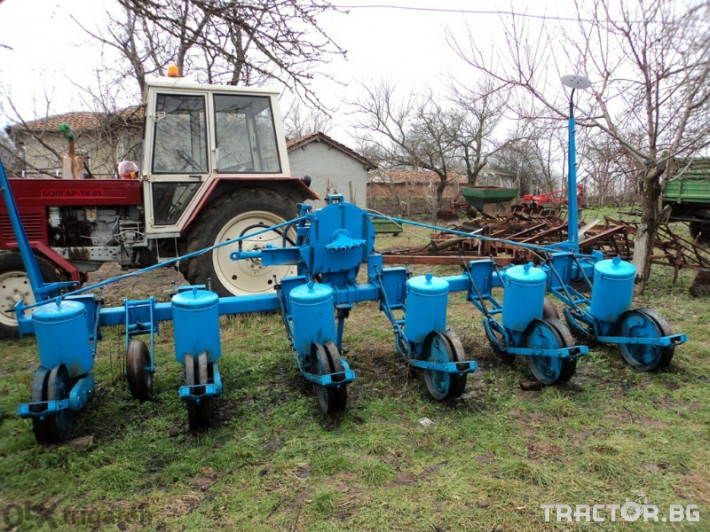 Сеялки румънска 1 - Трактор БГ