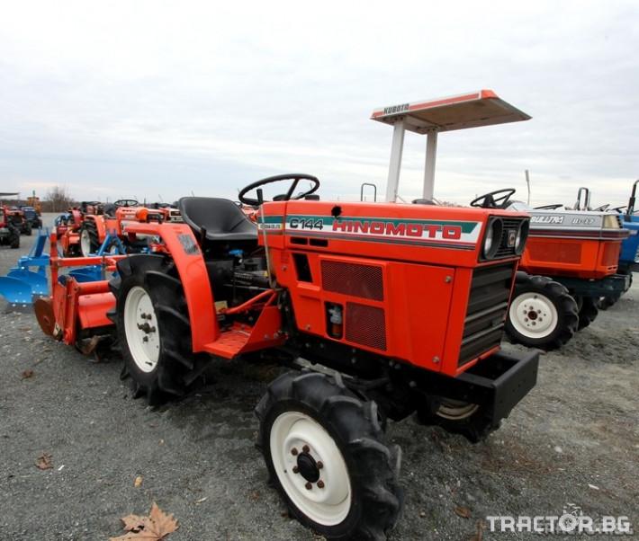 Трактори Hinomoto C144 0 - Трактор БГ