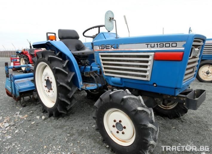 Трактори Iseki TU 1900 1 - Трактор БГ