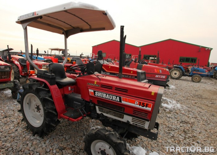 Трактори Shibaura P 15 F - Steiger Special 1