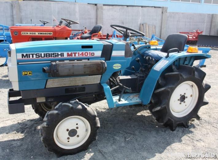 Трактори Mitsubishi MT 1401 D 1 - Трактор БГ