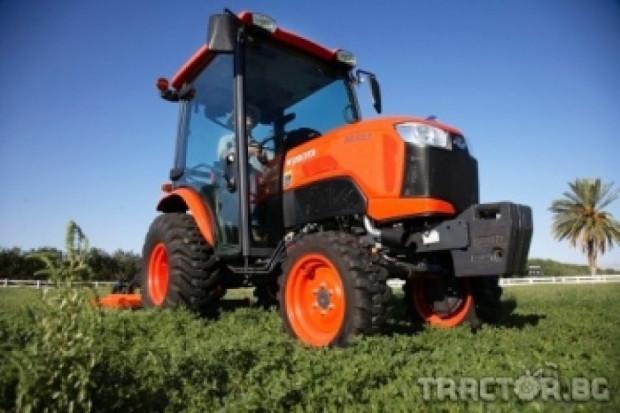 Kubota пуска нова серия лозарски трактори B50 с кабина