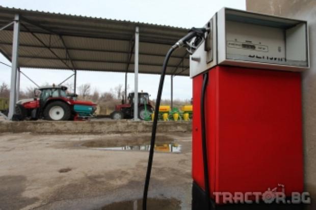 Няма да се поставят измервателни уреди на горивата за трактори и комбайни
