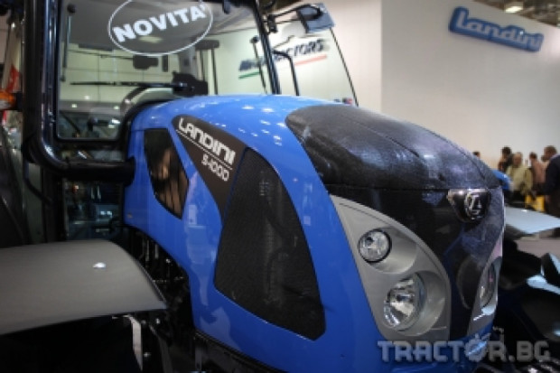 Landini представя нова серия трактори на изложението SIMA 2013 в Париж