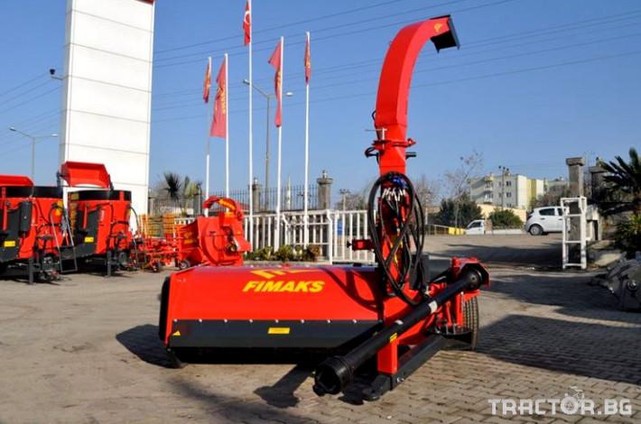 Машини за ферми Комбайн за силаж на трева FIMAX 0 - Трактор БГ