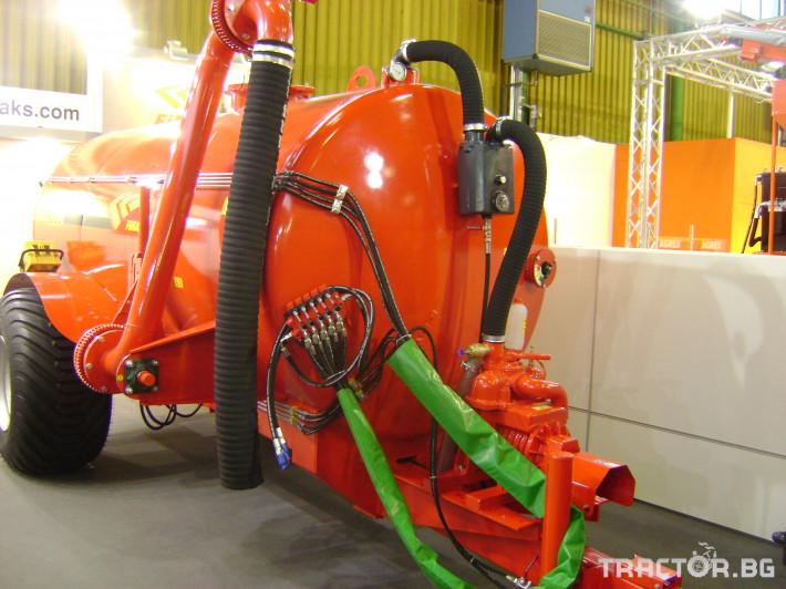 Ремаркета и цистерни Западни Цистерни Fimaks FST 6000-10000 л. 4 - Трактор БГ