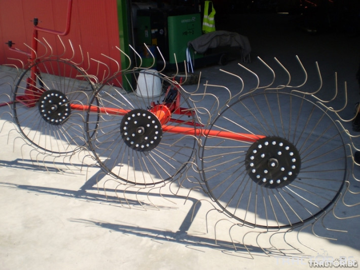 Сенообръщачки Сеносъбирач 3 работни органа 1 - Трактор БГ