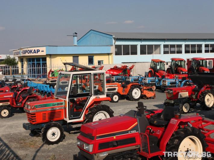 Трактори Iseki TX 1410  с фреза 4