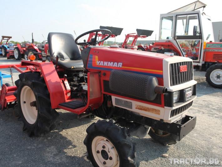 Трактори Yanmar японски трактор с фреза 1 - Трактор БГ