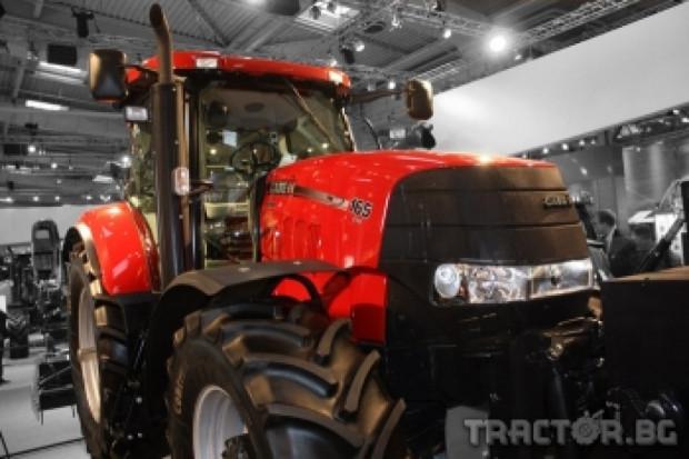 Tрактор Case Puma CVX спира безопасно благодарение на иновативен ABS