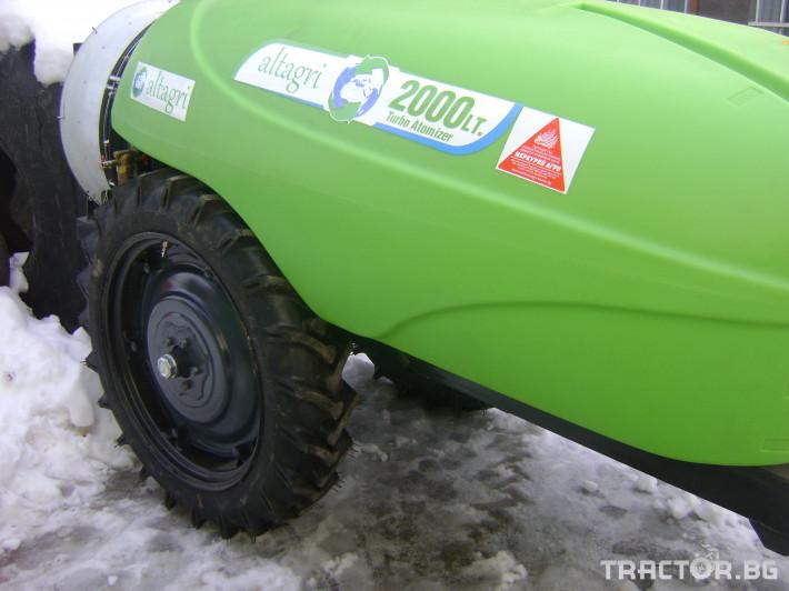 Пръскачки пръскачка турска Комбинирана пръскачка - 2000 л. 26 - Трактор БГ