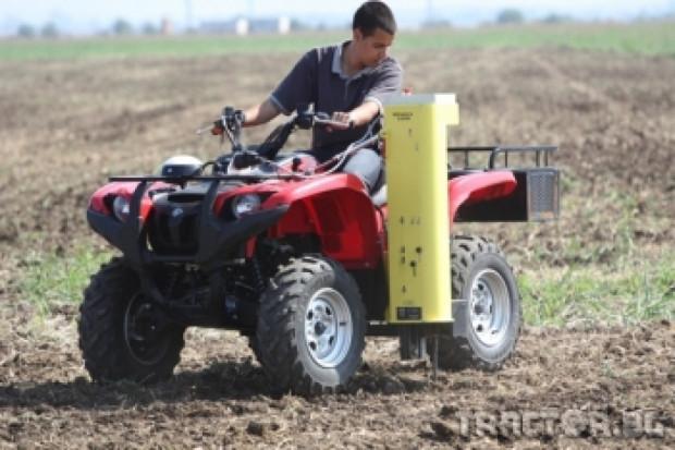 НИК демонстрира най-новите технологии при прецизното земеделие