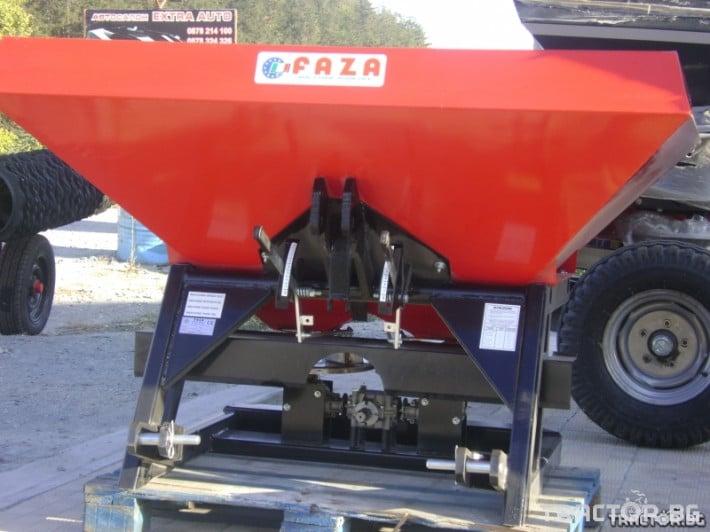 Торачки Италианска торачка двудискова FAZA - 1000 л. 1 - Трактор БГ