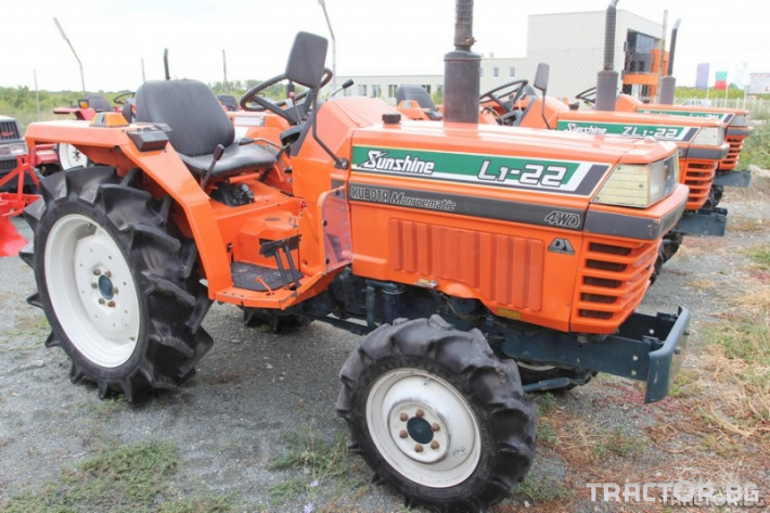 Трактори Kubota L1-22 Sunshine 1 - Трактор БГ
