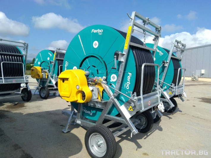Напоителни системи Внос Система за напояване FERBO 9 - Трактор БГ