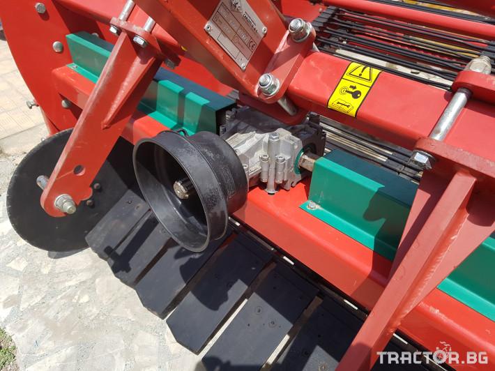 Машини за зеленчуци Двуредова машина за вадене на лук/ картофи  КМС 1600. Демонстрационен модел. Промо цена: 7 890 лева без ДДС 7 - Трактор БГ