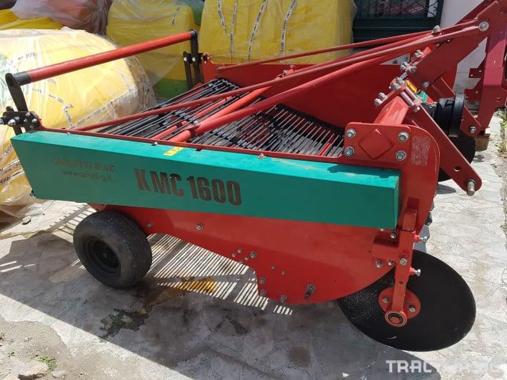 Машини за зеленчуци Двуредова машина за вадене на лук/ картофи  КМС 1600. Демонстрационен модел. Промо цена: 7 890 лева без ДДС 9 - Трактор БГ