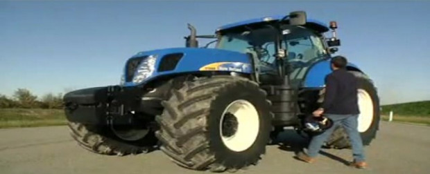 иновационна ABS Super Steer система при трактори New Holland