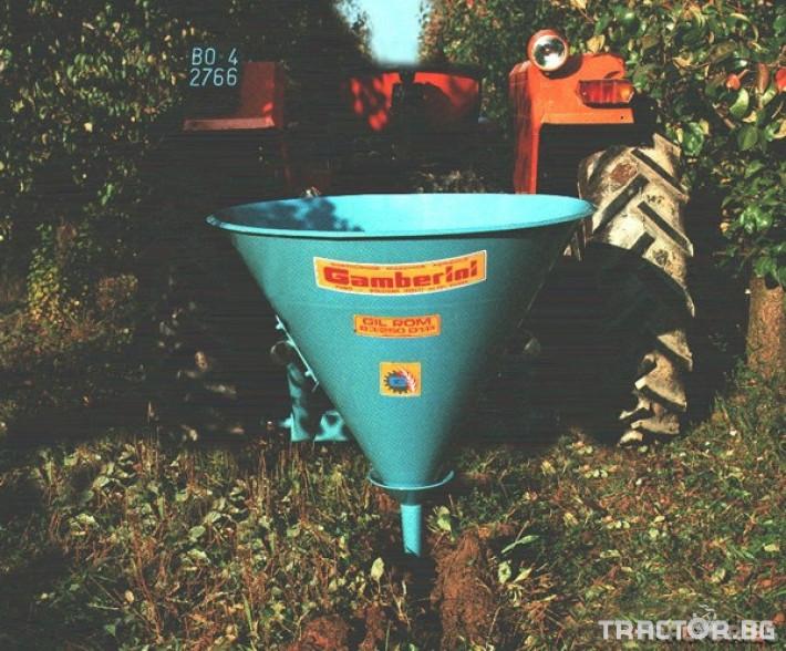 Машини за лозя / овошки Торачка за вкарване на изкуствените торове вътре в земята - едноредова 2 - Трактор БГ