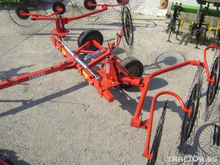 Сенообръщачки Прикачни сеносъбирачи Faza 8 - Трактор БГ