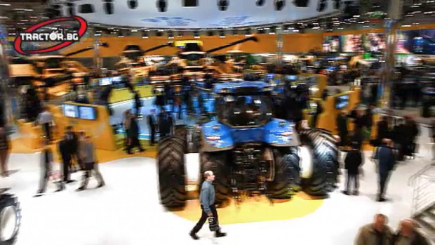 New Holland - Agritehnika 2011 - VIDEO