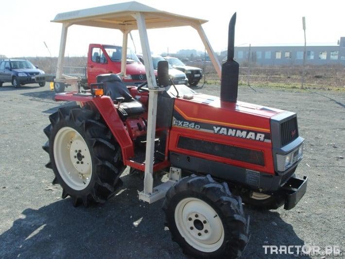 Трактори Yanmar FX24D 1 - Трактор БГ