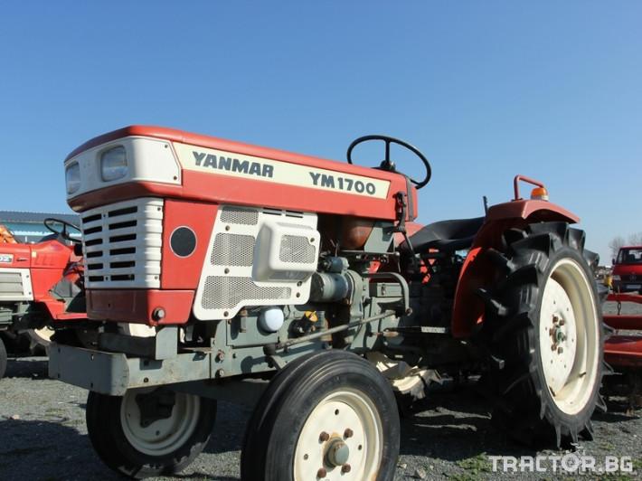Трактори Yanmar YM1700 0 - Трактор БГ