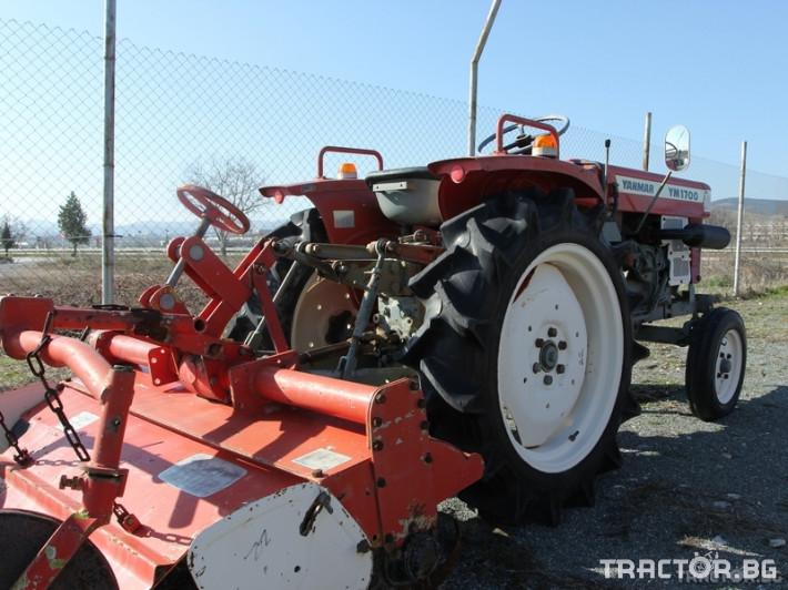 Трактори Yanmar YM1700 1 - Трактор БГ