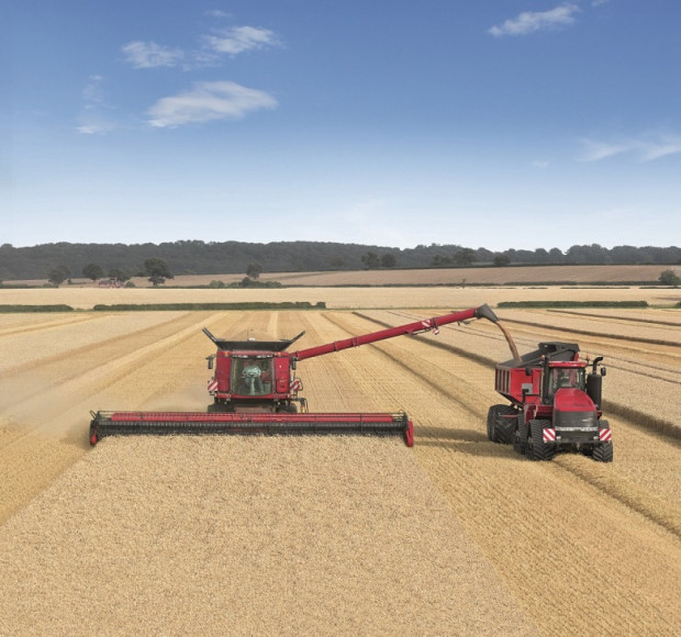 Предстои опит за рекорд при жътва на пшеница с Case IH Axial-Flow 9230