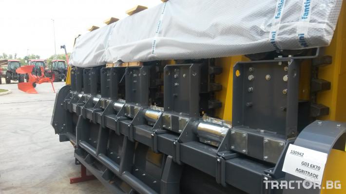 Хедери за жътва Хедер FANTINI за жътва на слънчоглед 12 - Трактор БГ