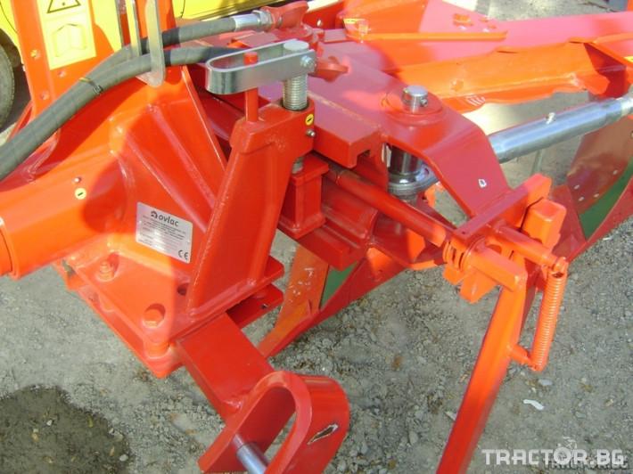 Плугове Ovlac Навесен обръщателен плуг OVLAC LV 3 3 - Трактор БГ