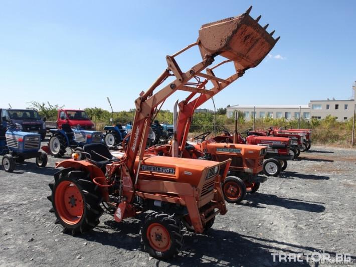 Трактори Kubota L2201 0 - Трактор БГ