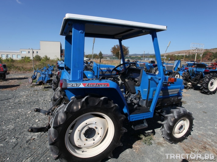 Трактори Iseki Landleader 247 1 - Трактор БГ