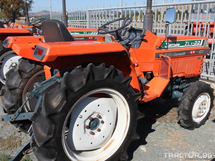 Трактори Kubota ZL1-11 Sunshine 1 - Трактор БГ