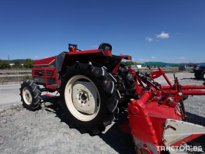 Трактори Yanmar F235 3 - Трактор БГ