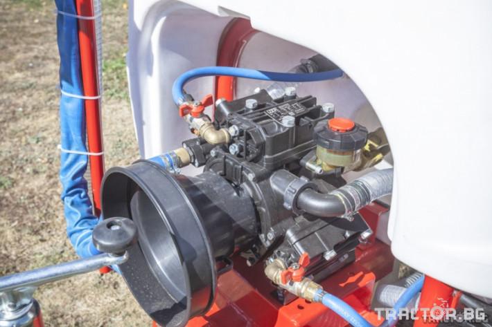 Пръскачки Agron Прикачна пръскачка вентилаторна - 800 л. 6 - Трактор БГ