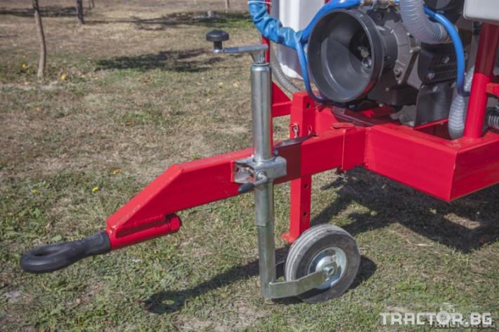 Пръскачки Agron Прикачна пръскачка вентилаторна - 1000 л. 8 - Трактор БГ