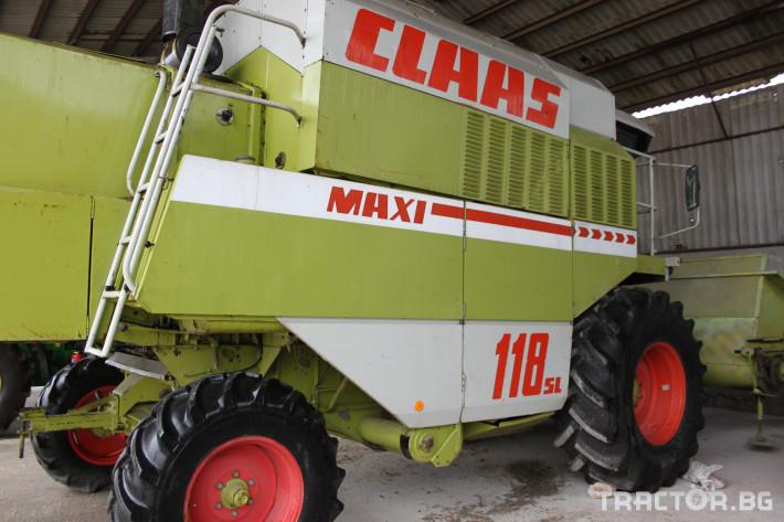 Комбайни Claas Maxi 118 4 - Трактор БГ