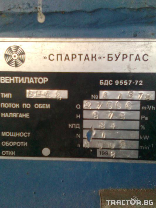 Други Въздуховод-вентилатор Спартак-Бургас 3 - Трактор БГ